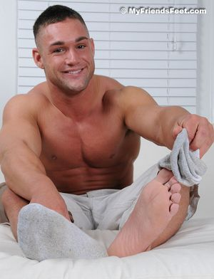 Brad Barnes Bare Feet