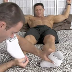 Bryce Evans' Socks & Bare Feet Worshiped!