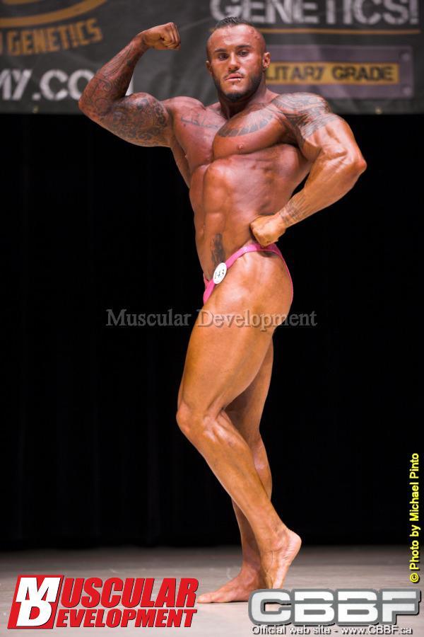 Cedric Doyon - 2013 Canadian National Bodybuilding Championships