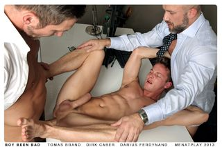 Tomas Brand, Dirk Caber and Darius Ferdynand