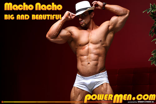 Macho Nacho in Big and Beautiful
