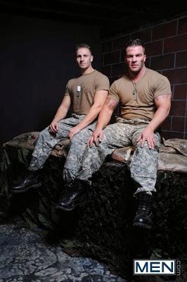 Braden Charron and Logan Vaughn