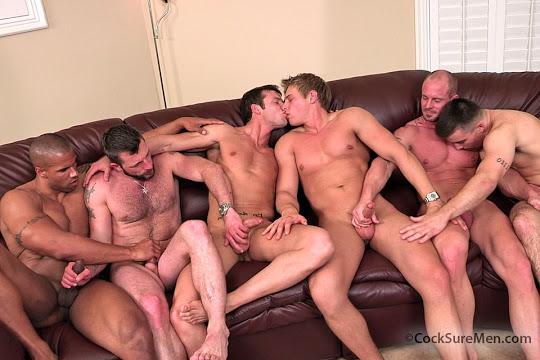 Brady Jensen, Guy Jones, Kevin Crows, Mitch Vaughn, Morgan Black, Robert Axel