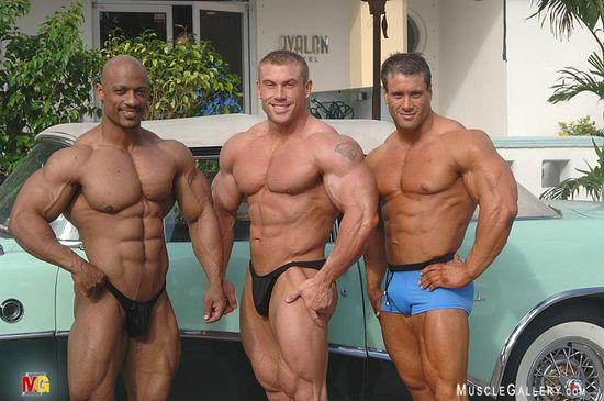 Sami Al-Haddad, Greg Jones and Mark Erpelding