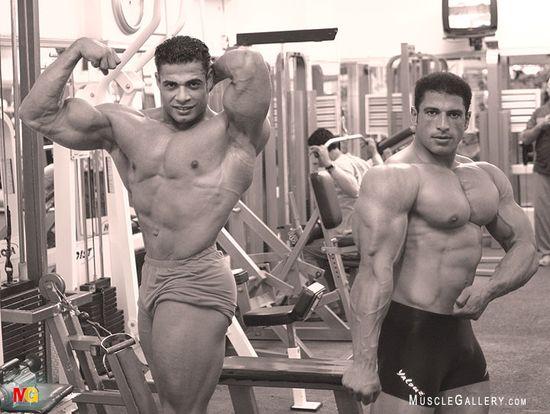 Moustafa Nesim and Mahmoud Atef