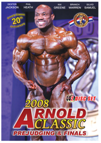 2008 ARNOLD CLASSIC - 2 Disc DVD