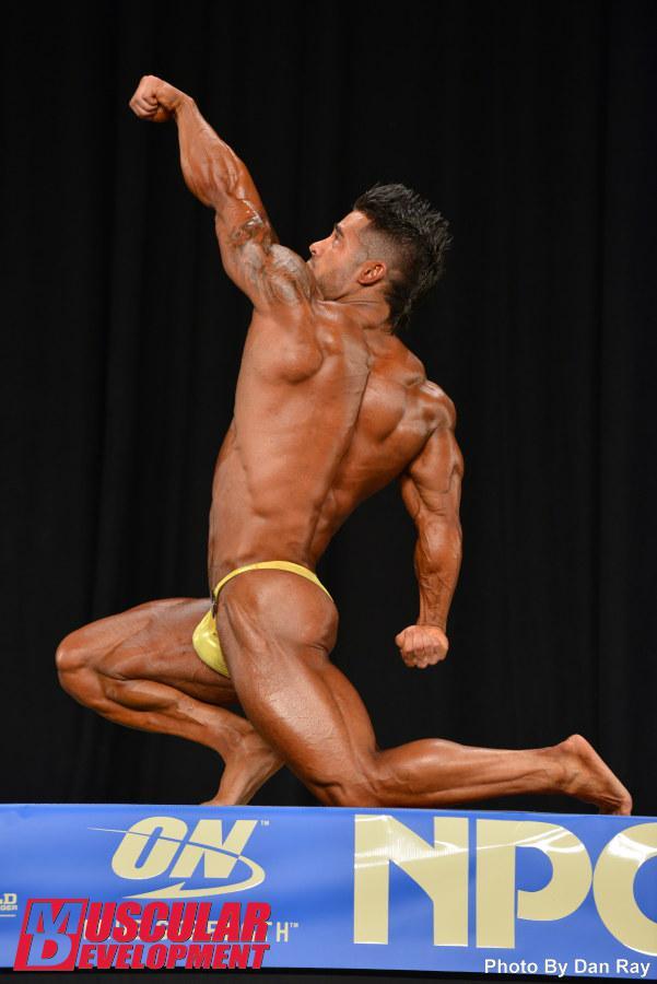 Santiago Aragon - 2014 NPC National Championships