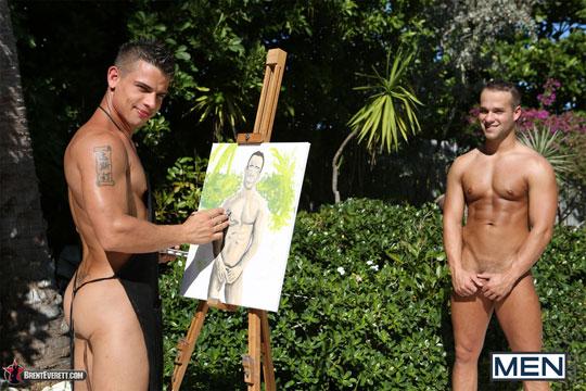 Brent Everett and Luke Adams