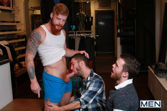Bennett Anthony, Brandon Moore and Colt Rivers