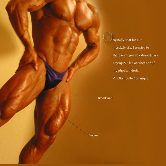 Jeff Dwelle - Cinema 219 Perfect Physique - The Golden Guy