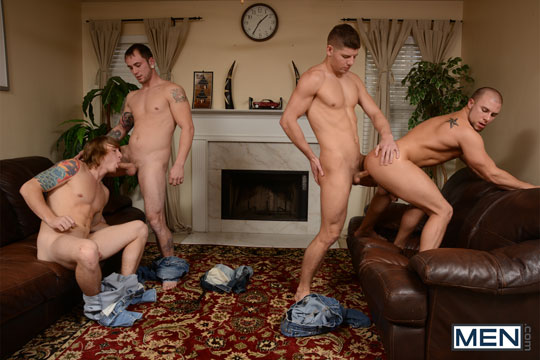 Tom Faulk, Connor Halstead, Eli Hunter and Jared Summers