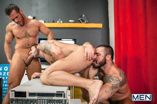 Denis Vega, Max Toro and Jessy Ares