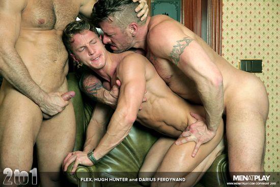 Flex, Darius Ferdynand and Hugh Hunter