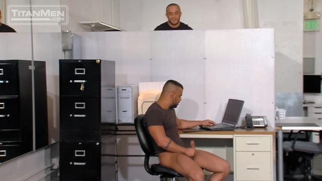 Alex Graham & Tony Orion in House Rules, Scene 2