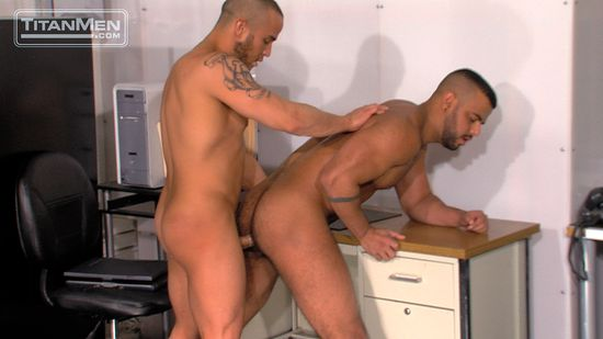 Alex Graham & Tony Orion in House Rules, Scene 2