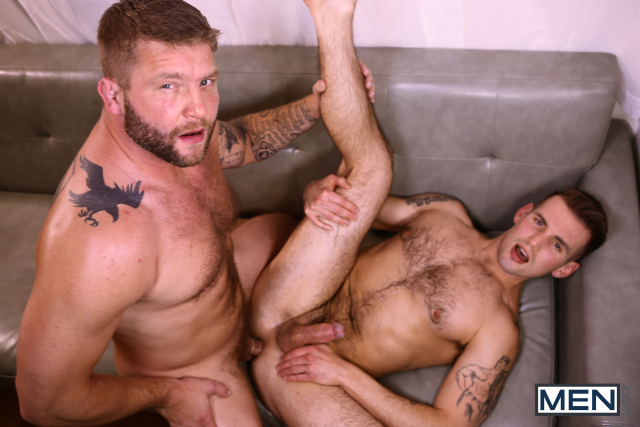 Colby Jansen and Chris Harder