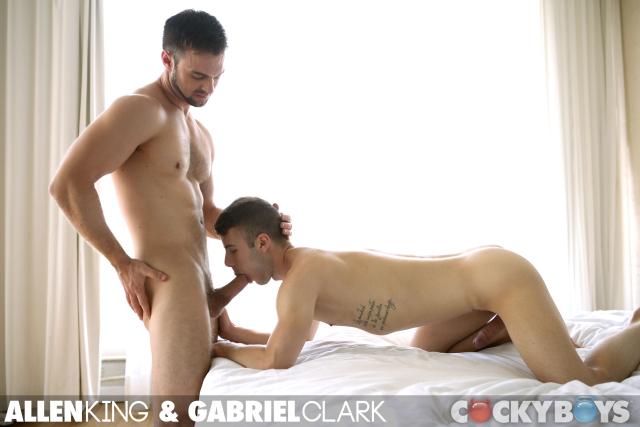 Gabriel Clark Fucks Allen King at Cockyboys