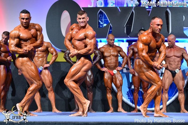 2015 Mr. Olympia Amateur Spain