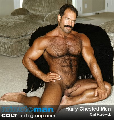 Carl Hardwick in Minute Man 15 - Hairy Chested Men