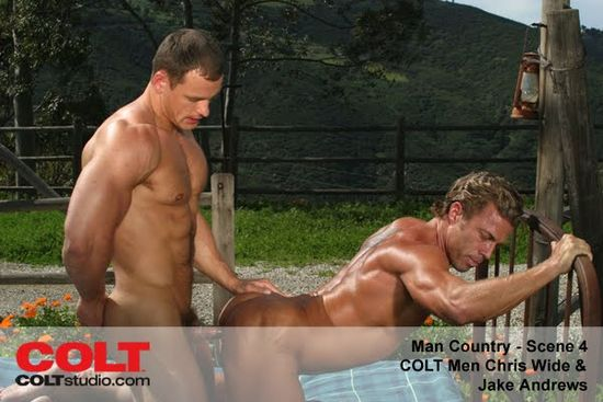 Chris Wide and Jake Andrews