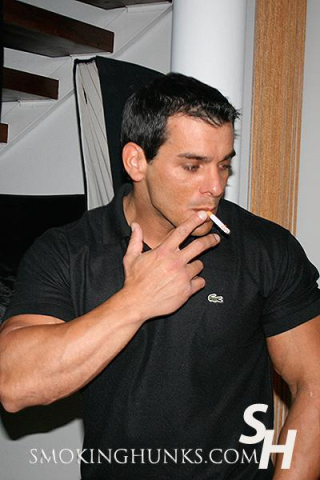 Smoking Hunks Luccio