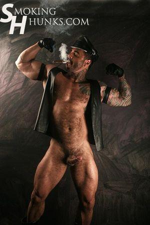 Alexsander Freitas Leather and Cigars
