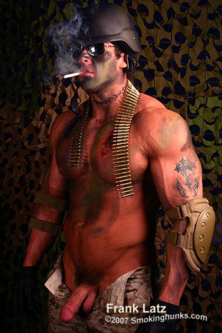 Smoking Hunks Frank Latz