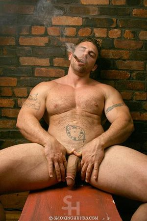 Smoking Hunks Xavier Muscle