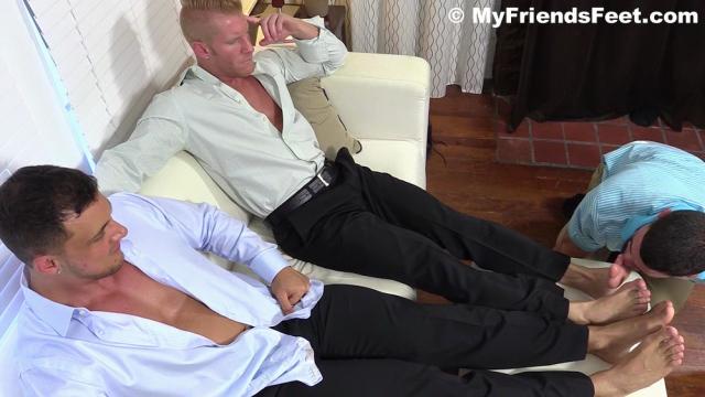 Ricky Worships Johnny and Joey's Feet