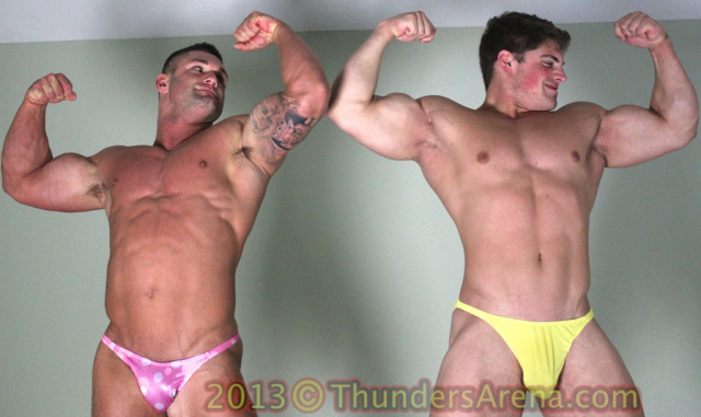 Bodybuilder Battle 58 Dominic vs Brad Barnes