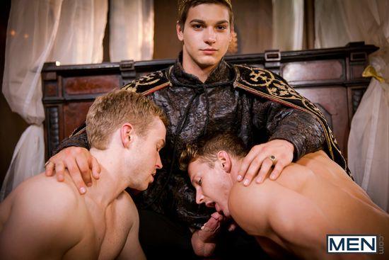 Darius Ferdynand, Gabriel Cross, and Johnny Rapid