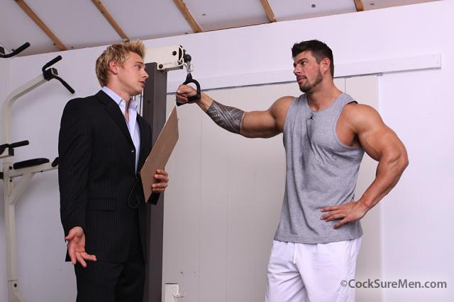 Zeb Atlas and Brady Jensen