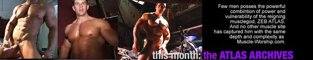 Muscle-Worship Zeb Atlas Collection