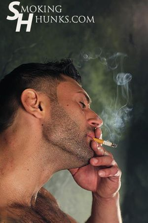 Smoking Hunks Mike Buffalari