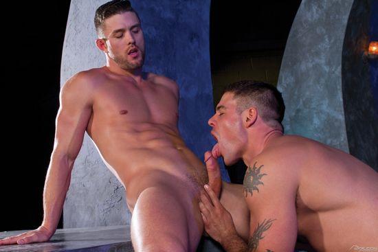 Ryan Rose and Derek Atlas in Magnitude Scene 2