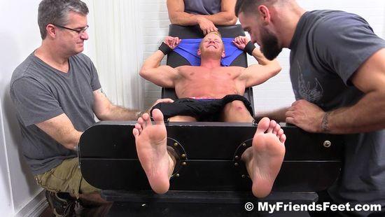 Johnny V Gets Tickled Naked