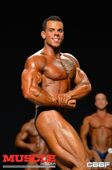 Maxime Paquette - 2014 CBBF Canadian Bodybuilding Championships