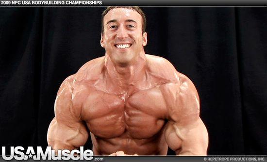Craig Golias - 2009 NPC USA Bodybuilding Championships Men's Backstage Posing Part 3