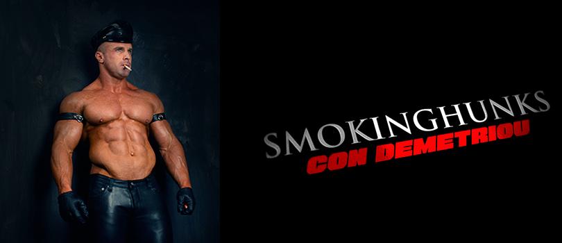 Smoking Hunks Constantinos