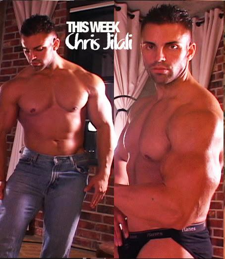 Muscle Worship Chris Jalali