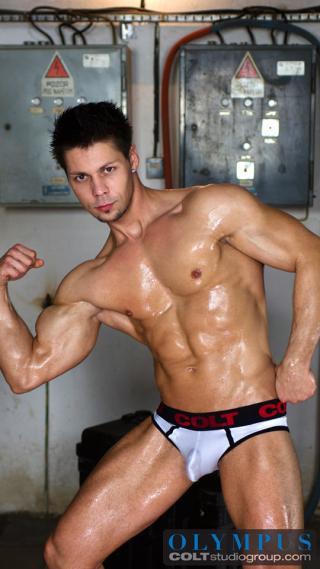 Emilio Guardi in Heavy Lifting, Scene 5