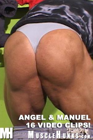 MuscleHunks Angel Cordoba and Manuel Melia