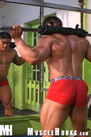 MuscleHunks Angel Cordoba and Manuel Melia