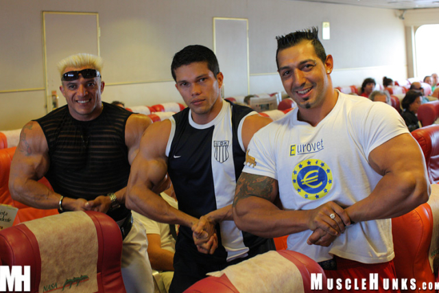 Macho Nacho, Ezequiel Martinez, Angel Cordoba and Papi Palermo