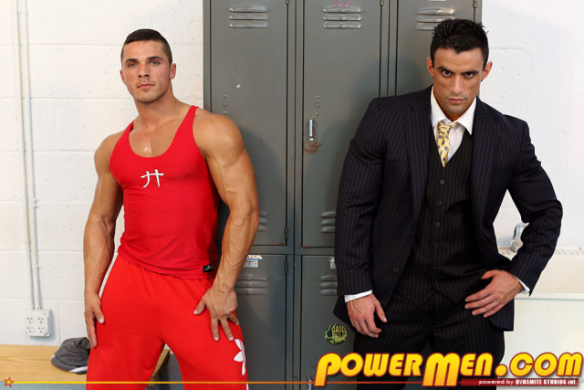 Powermen Macho Nacho and Joey van Damme