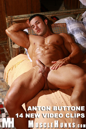 MuscleHunks Anton Buttone