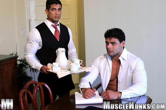 MuscleHunks Brad Hatcher and Pepe Mendoza