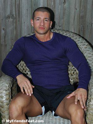 Bodybuilder Nelson's Socks & Bare Feet
