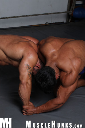 MuscleHunks Ko Ryu, Timmy Riordan & Bill Baker
