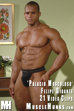 MuscleHunks Felipe Gigante